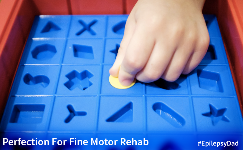 Perfection (The Game, Not The Goal) For Fine Motor Rehab