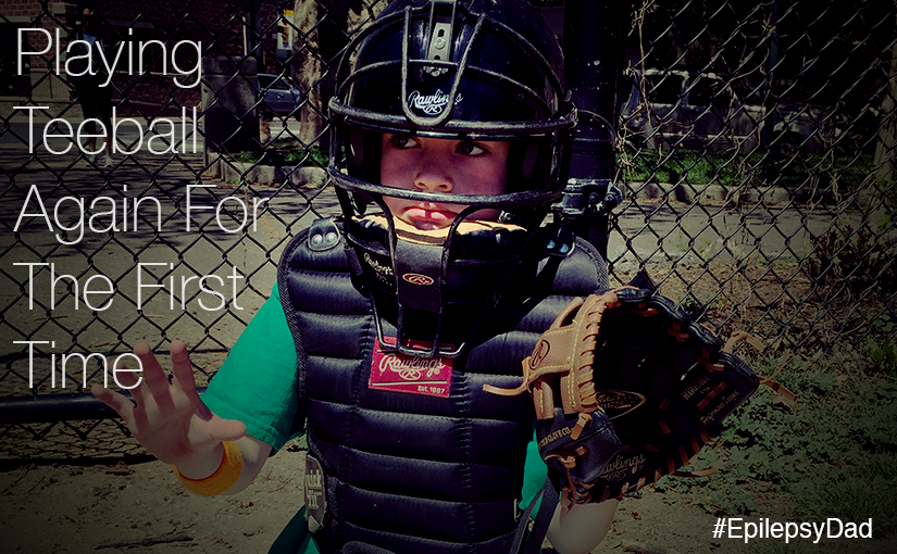 Playing Teeball Again For The First Time