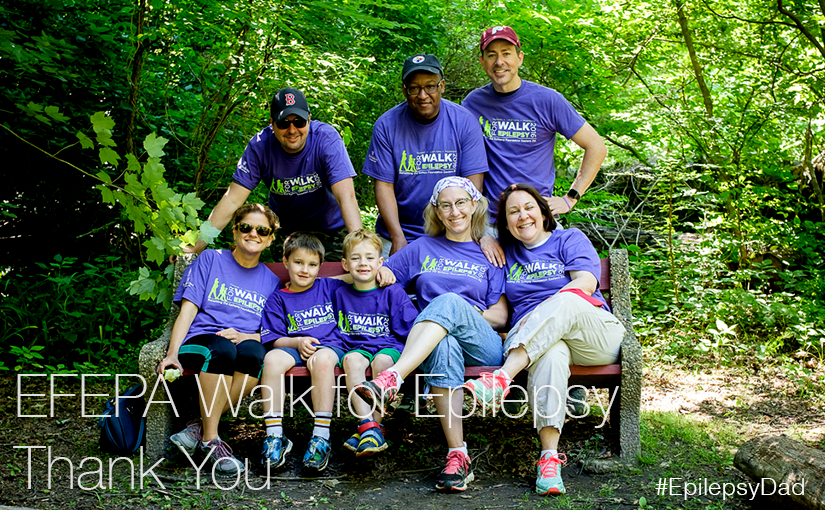 EFEPA Walk for Epilepsy – Thank You