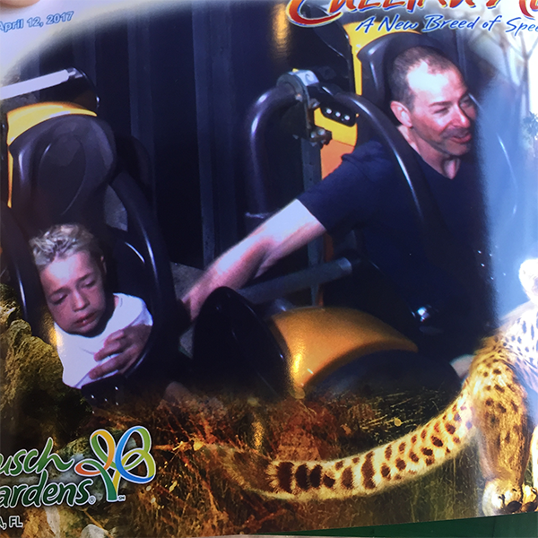 epilepsy dad unhappy roller coaster