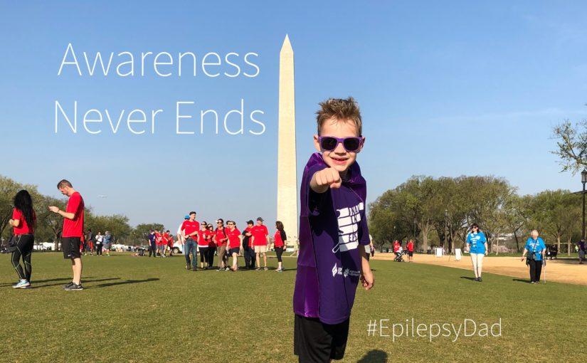 Epilepsy awareness never ends blog relay