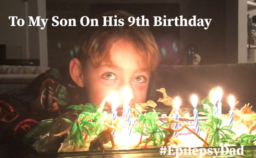 To My Son On His 9th Birthday