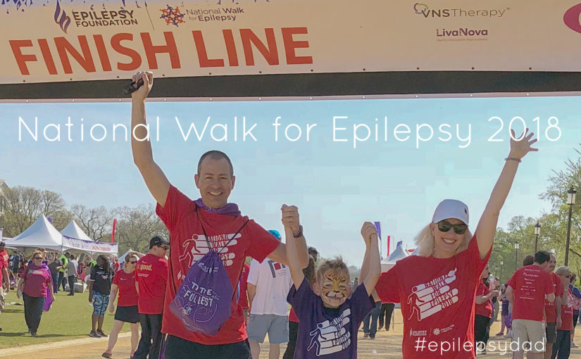 national walk for epilepsy foundation epilepsy dad