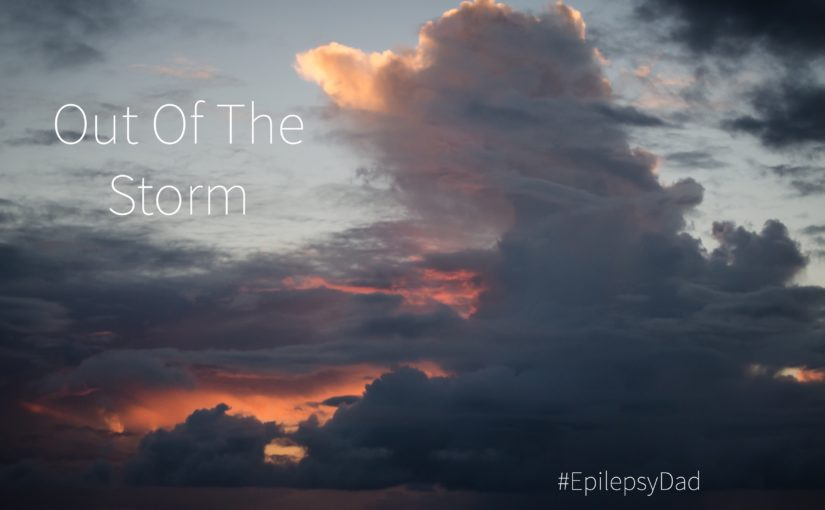 Epilepsy dad family parenting storm life