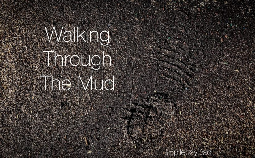 Walking Through The Mud